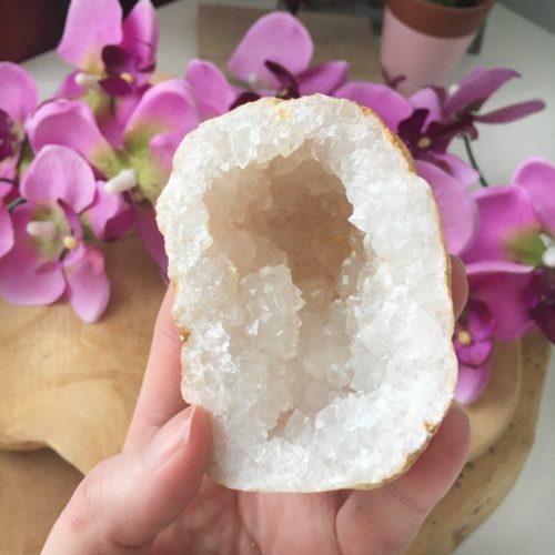 Bergkristal Geode 2