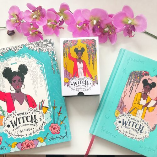 Modern Witch Tarot- 78 - Card Deck - inclusief boekje - Tarot Journal - Tarot Coloring Book